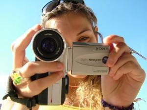 fotografavimasis su merginomis prie rotuses