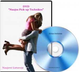 Naujos Pickup technikos DVD logo