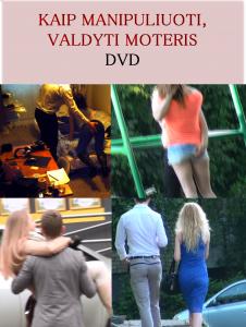 kaip manipuliuoti valdyti moteris dvd viršelis