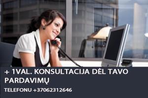 konsultacija telefonu del pardavimu