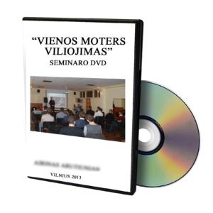 Vienos Moters Viliojimas DVD discai logo