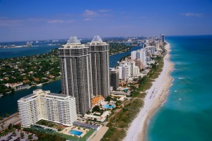 The United States of America -Miami Beach in California tourism destinations