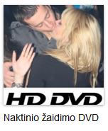 naktinio žaidimo DVD