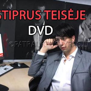 Stiprus Teisėje DVD